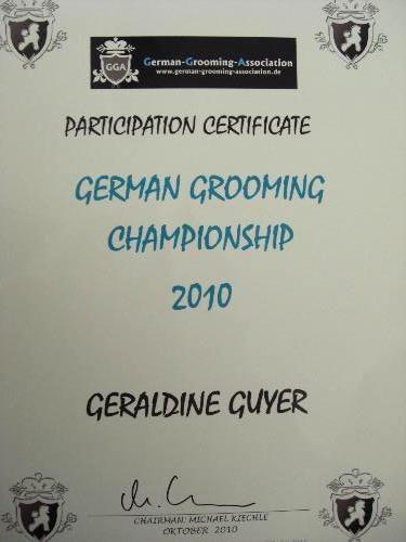 German Grooming Championship 2010